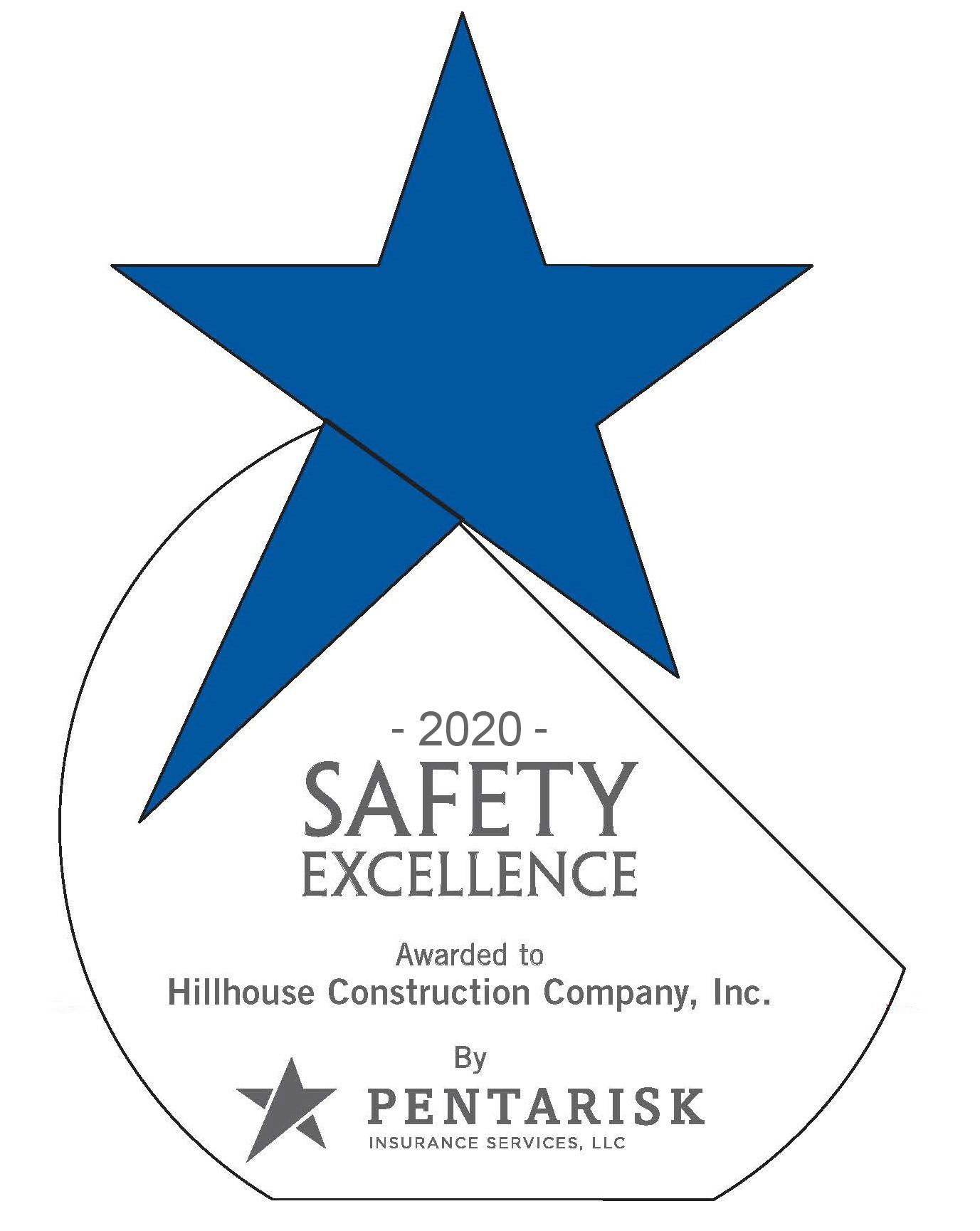 Award: 2020 Safety Excellence Award